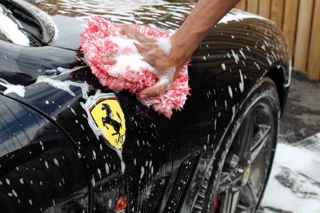 Ferrari 757 Hand Wash Detailing