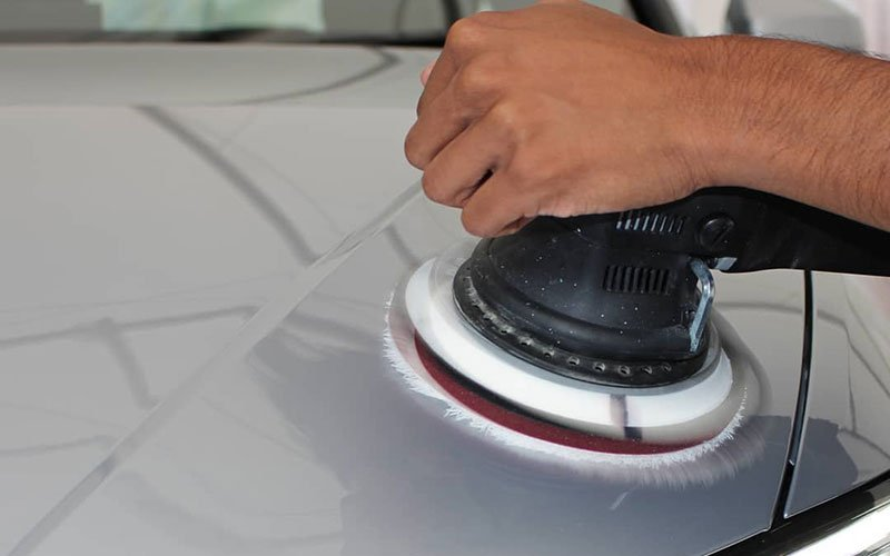 The full paint correction detail is available at our detailing studios in Petersfield, close to the Hampshire and West Sussex border